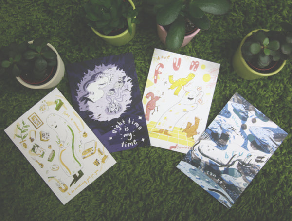 Artist Spotlight - Robbie Cathro - Postcard Pack