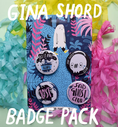 "Artist Spotlight ""Gina Shord"" - Badge Pack"