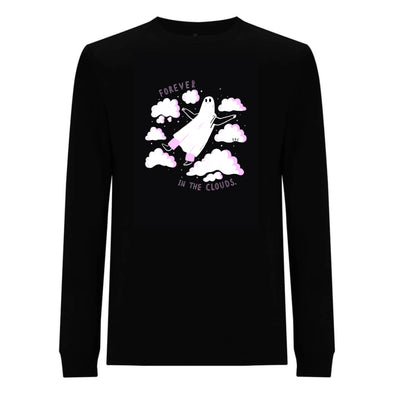 Floaty Ghostie - Long Sleeve Tee