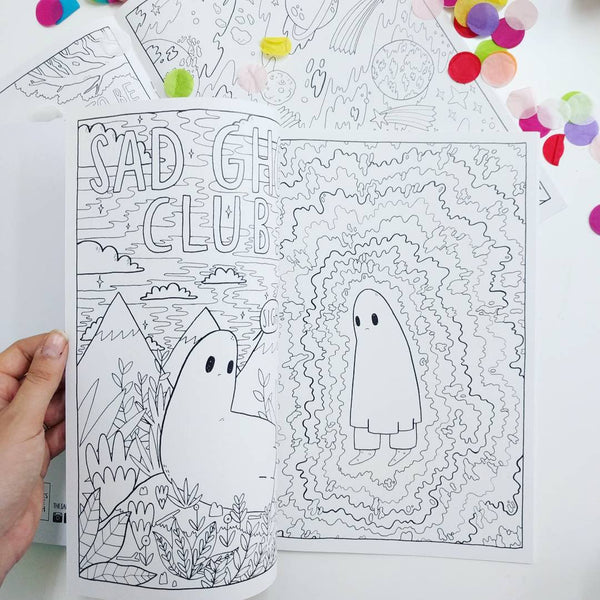 SGC Colouring Book