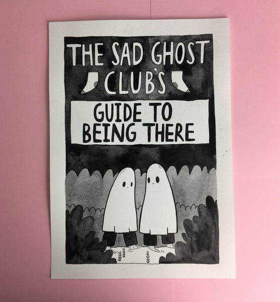 Original - The sad ghost club's guide to being there COVER