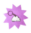 Sad Rain Cloud Keyring