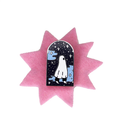 Space To Grow Enamel Pin