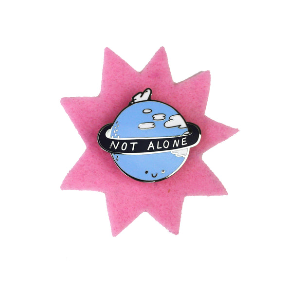 Not Alone Enamel Pin