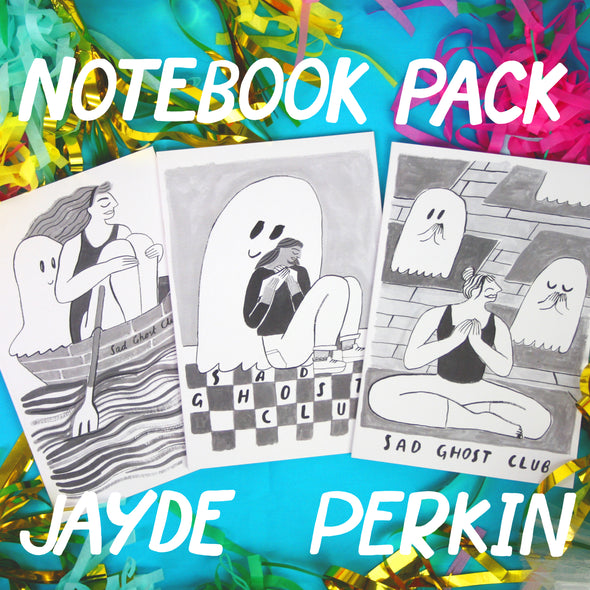 "Artist Spotlight ""Jayde Perkin"" A5 Notebook Pack"