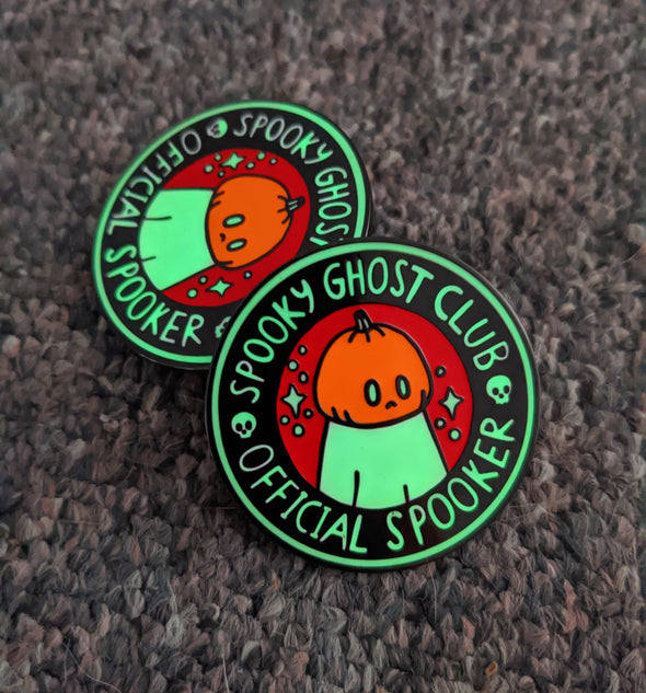 Spooky Ghost Club Halloween Pin - 2020 Limted Edition
