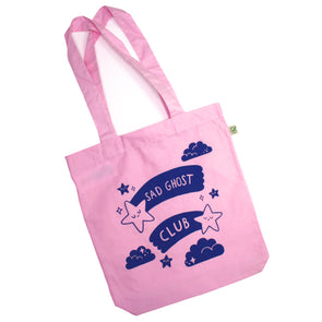 Starry Pink Tote Bag
