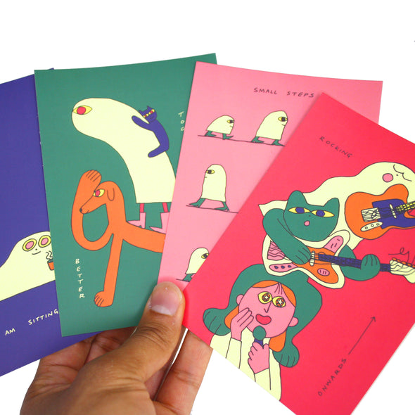 "Artist Spotlight ""Molly Fairhurst"" Postcard Pack"