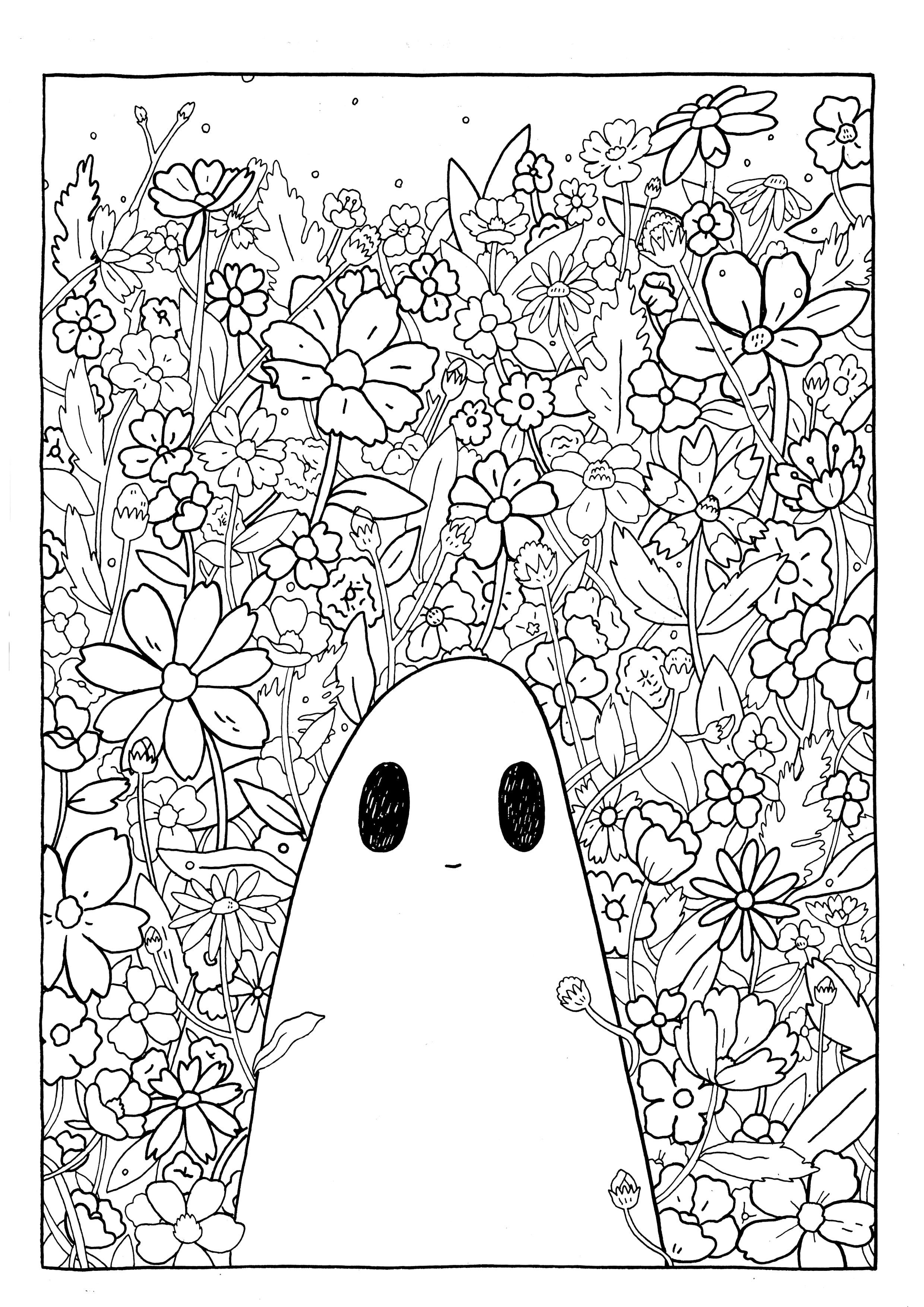 Sgc Colouring Pages The Sad Ghost Club