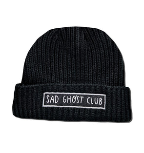 The Sad Ghost Club - Black Trawler Beanie