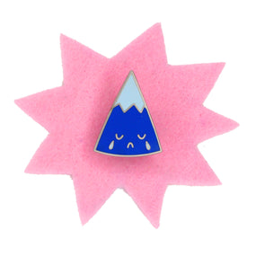 Sad Mountain Pin