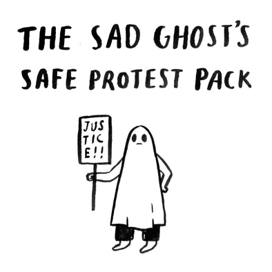 The Sad Ghost's Safe Protest Pack