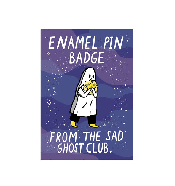 Shooting Star Ghost - Enamel Pin
