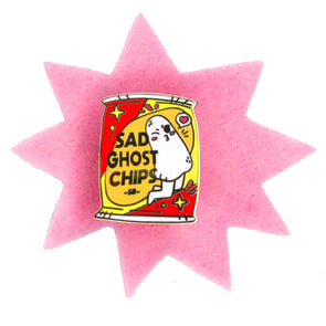 Artist Spotlight 'Snacky Boy' SGC Enamel Pin