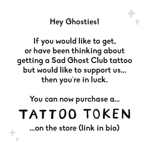 The Sad Ghost Club - Tattoo Token