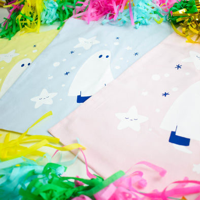 Pastel Starry Tote Bag