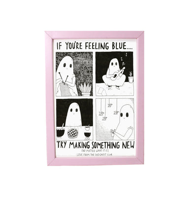 If You're Feeling Blue - A3 Giclée Print