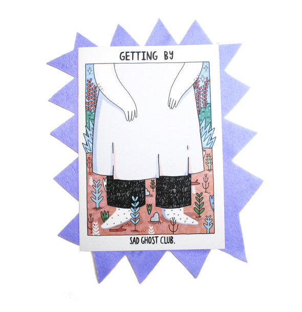 Getting By - A5 Zine
