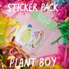 "Artist Spotlight ""Plant Boy"" Sticker Pack"