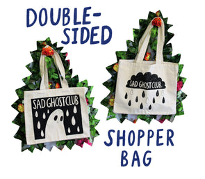Double Sided Rainy Day Shopper Bag