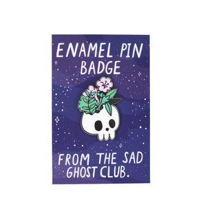Skelly's Headache Enamel Pin