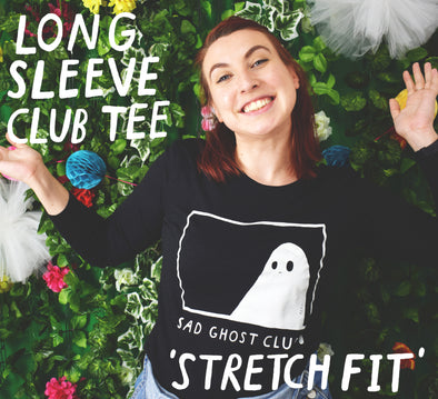 Long Sleeve Club Tee - Stretch Fit