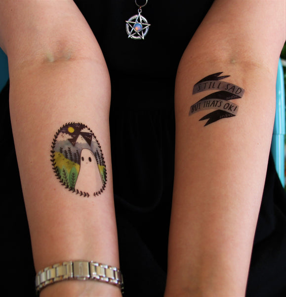 Colour Temporary Tattoos