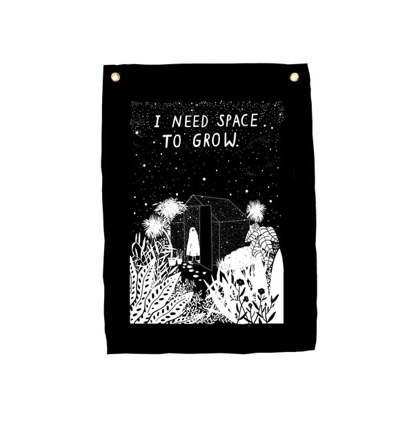 Space To Grow - 50x70cm Wall Hanging