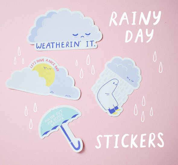 Rainy Day Sticker Pack