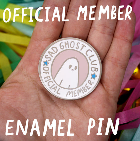 Official Club Member Pin