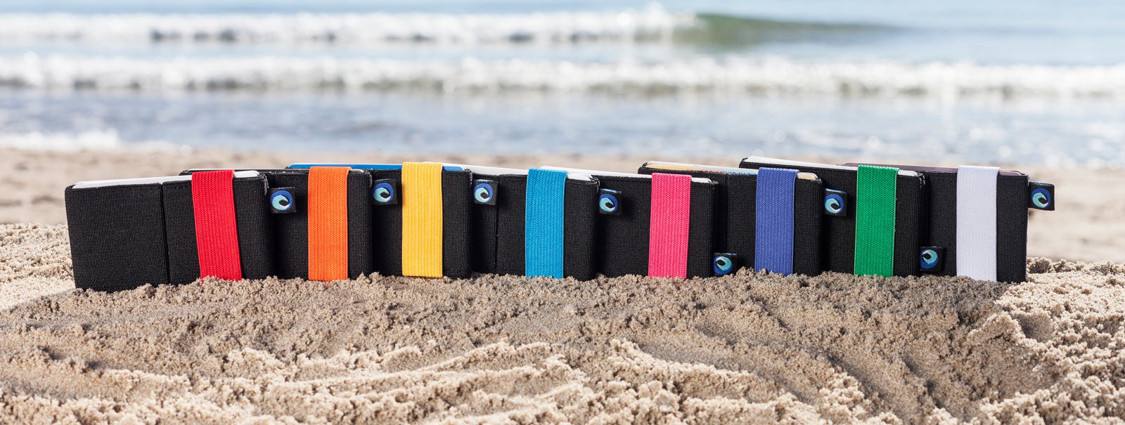 La cartera cómoda y minimalista. Averday Hawaii Pro en la playa