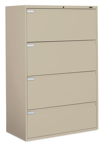 "42"" Wide 4 Drawer Lateral File"