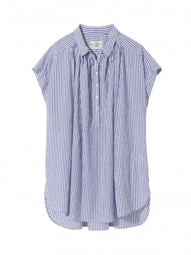 Normandy shirt - Striped voile