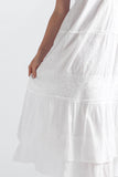 La Cera Embroidered Layered Short Sleeve Tiered Gown - La Cera™ - 2