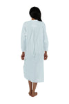 100% Cotton Long Sleeve Gown