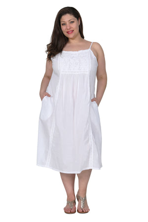 La Cera Plus Size Sleep Gown
