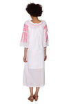 La Cera Quarter Length Sleeve Embroidered Caftan