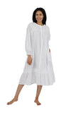 100% Cotton Long Sleeve Robe