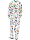 Forest Animal Flannel Pajama Set