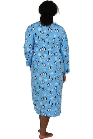 Plus Size Penguin Night Shirt