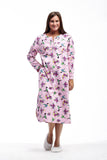 La Cera Hummingbird Print Night Shirt - La Cera™ - 4