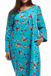 La Cera Hummingbird Print Night Shirt - La Cera™ - 2
