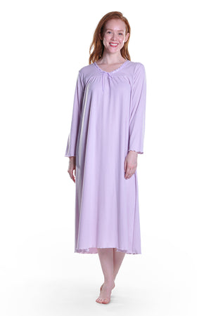 Long Sleeve Plus Size Gown