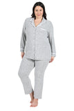 The Comfort Collection Plus Size Tailored PJ Set