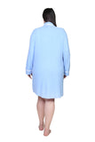 The Comfort Collection Plus Size Tailored Sleep Shirt