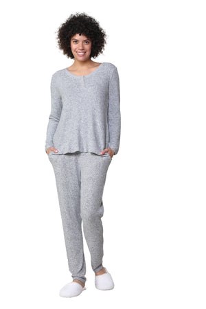 The Comfort Collection Snap PJ Set