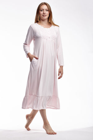 Smocked Plus Size Gown