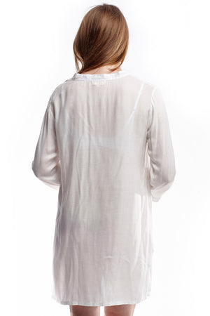 Long Sleeve Rayon Sleep Shirt