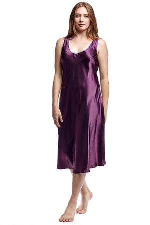 Satin Plus Size Gown