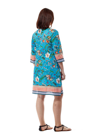 Printed Voile Cover Up